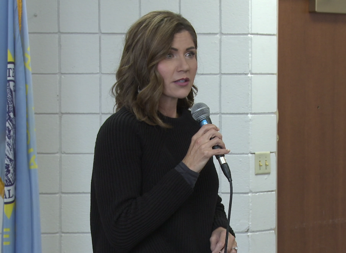 Kristi Noem makes a final tour West River before Election Day on November 6.