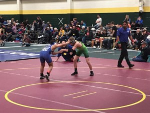 Image of wrestlers competing in Spearfish