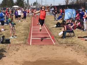 Image from the Queen City Classic track meet in Spearfish