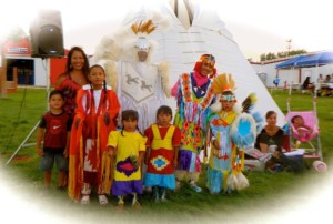 Indigenous People Event at Fair