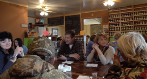 Customers at Southern Hills Diner & Bakery