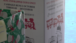 Toys for Tots Box