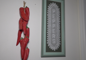 Peppers door decorations