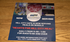 Hill City Meals flyer