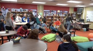 Alternative Seating in Mrs. Mueller's classroom