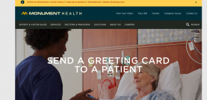 Monument Health website