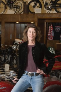 Pepper Massey at Motorcycle Museum and Hall of Fame