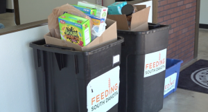 Food donations collected for Feeding South Dakota