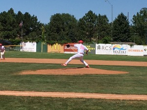 Jake Goble Pitching