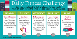 Fitness Challenge, Daily Digest