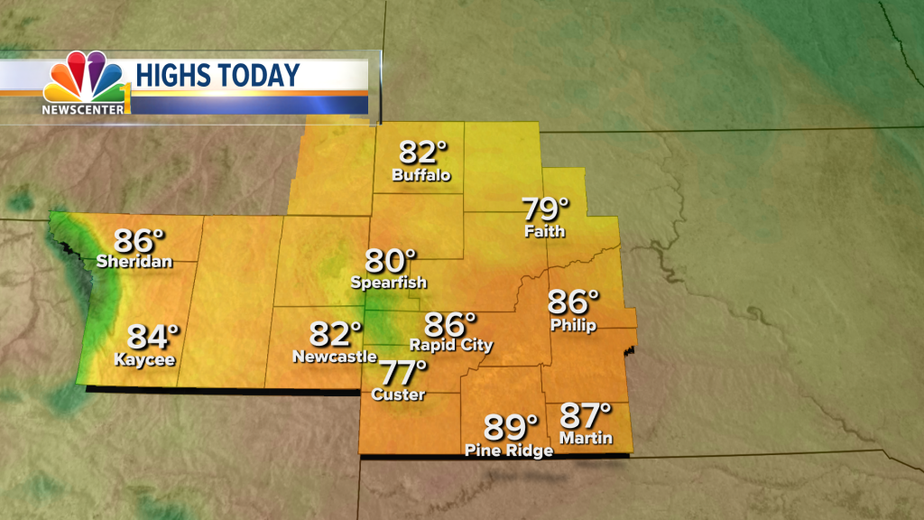 042 Ed Black Hills Area Forecast Highs Today Hd
