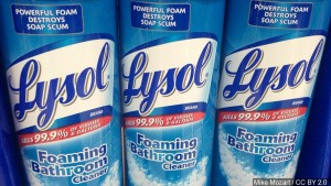 Lysol, cleaning product