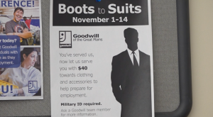 Goodwill Boots to Suits Program